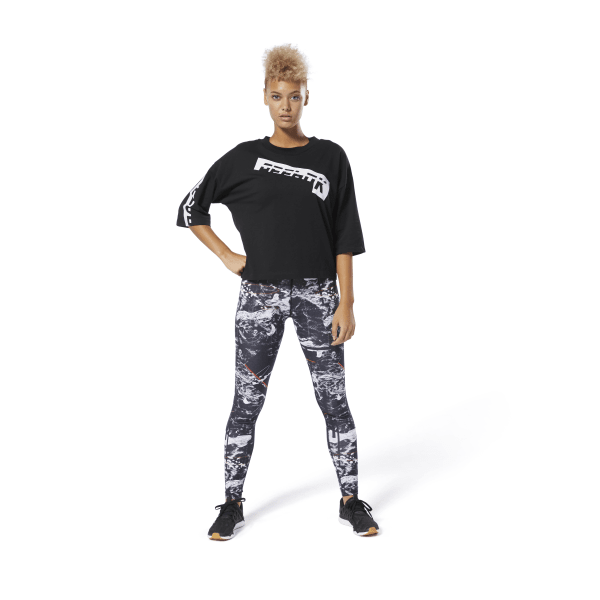 Reebok Women/'s Meet You There Graphic Tee