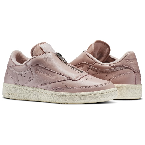 info for huge inventory clearance sale Reebok Club C 85 Zip - Pink | Reebok Ireland