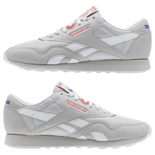 Reebok Classic Leather Nylon Grau | Reebok Switzerland