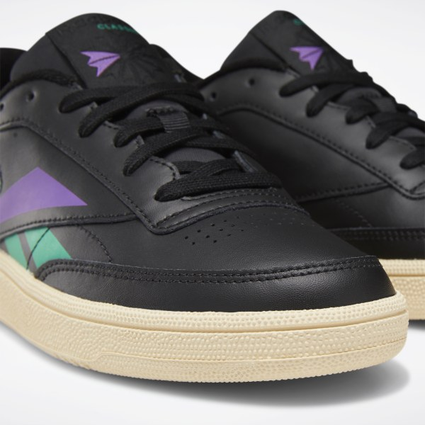 reebok club c 85 vintage black