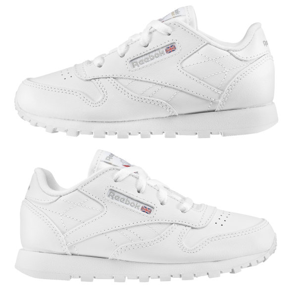 Reebok Classic Leather Wit Peuters