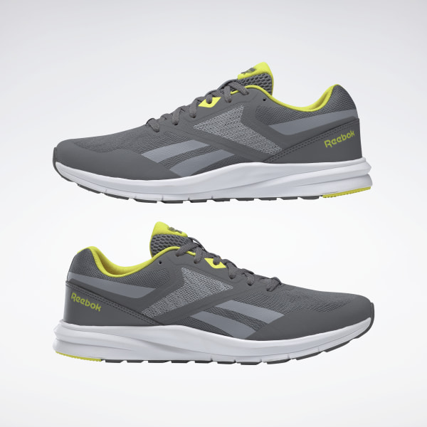 Reebok Zig Pulse Mens Shoes BlackYellowSilver,reebok