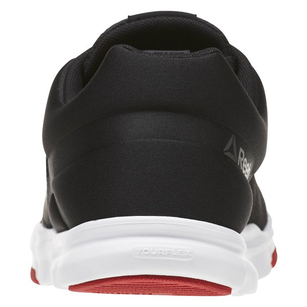 New Mens Reebok Yourflex Train 9.0 MT Athletic Shoes Black Red White Gray 10