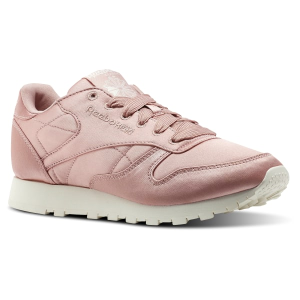 Reebok Classic Leather Satin Rosa | Reebok Deutschland
