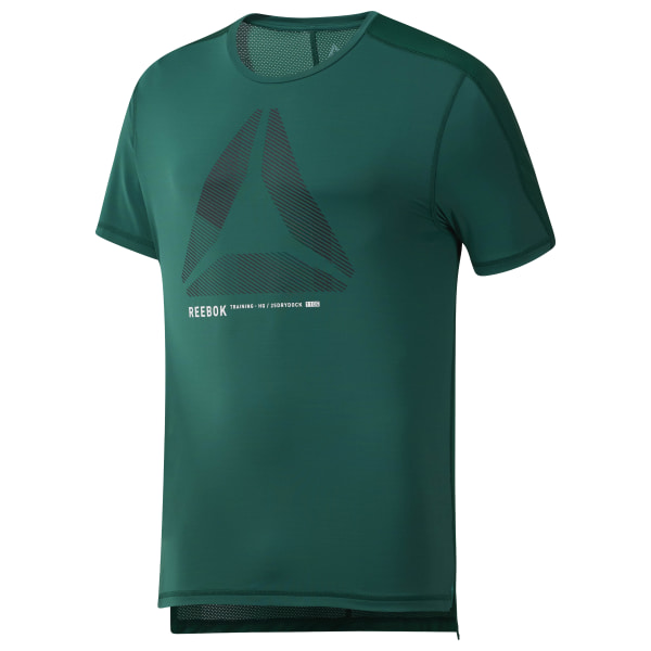 Reebok One Series Training ACTIVCHILL Move Tee Grön | Reebok Sweden