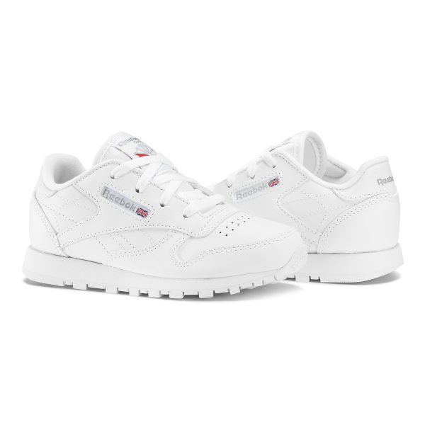 Classic Leather - Baby & Peuter White 50192