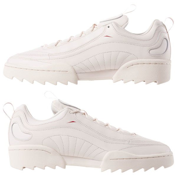 Reebok Rivyx ripple trainers in white White Buty damskie