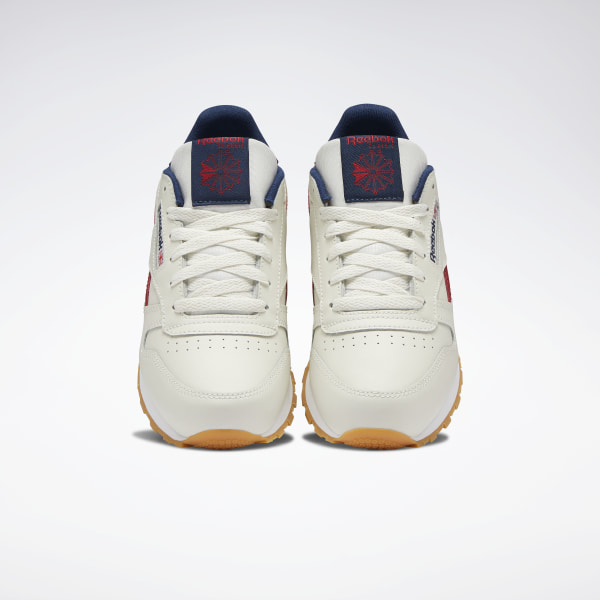 Reebok Classic Leather Chalk Power Red Navy