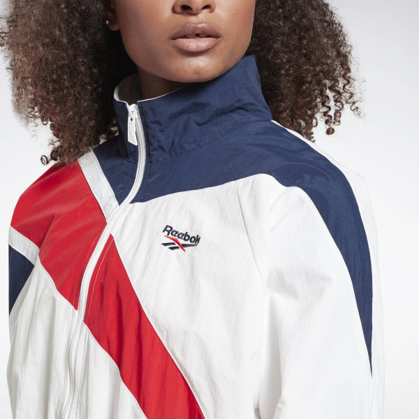 LF Vector Navy and Red Track Top by Reebok