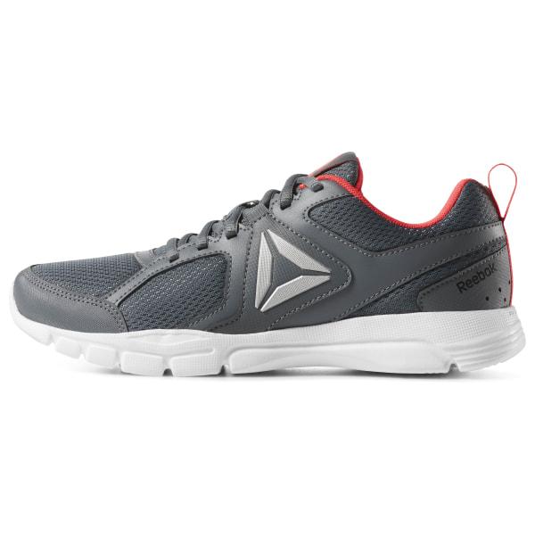 Mens Reebok Running | Runner 3 4E Black True Grey White Neon Red