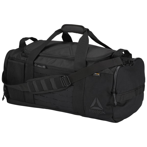 Reebok Grab and Go Duffle Bag Black | Reebok US