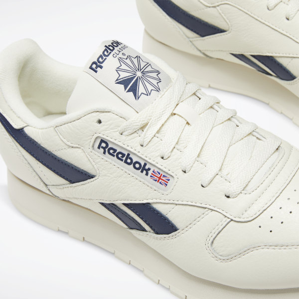 Reebok Classic Leather Shoes White | Reebok MLT