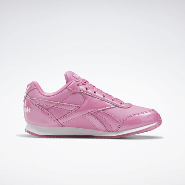 reebok classic leather trainers white pink girls size 10,11,11.5,12,13,1,2,2.5