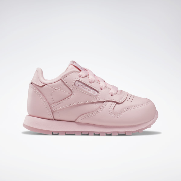 Reebok Classic Leather Shoes Toddler Pink | Reebok US