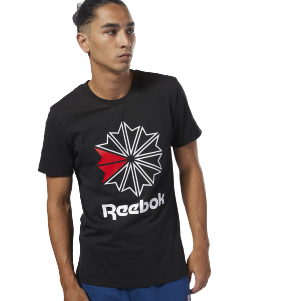 46c731a4be Reebok Classics Graphic T-Shirt - Black | Reebok Norway