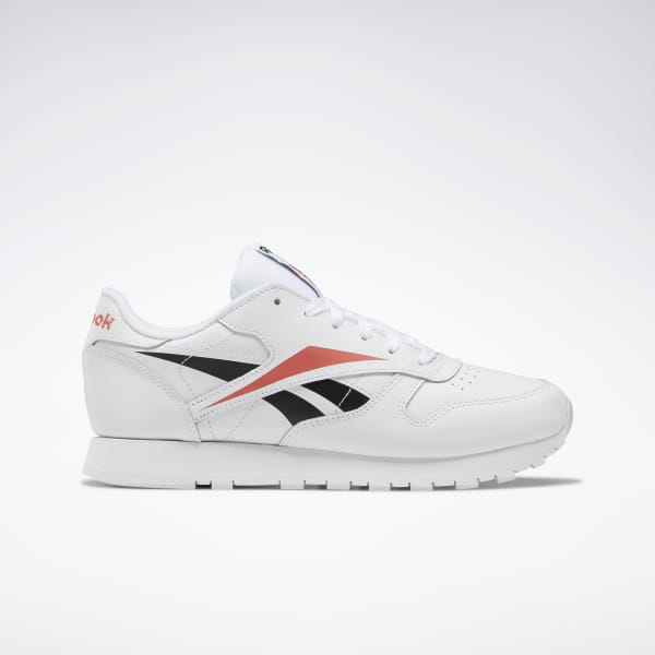 An \'80s runner continues to set the pace as a streetwear icon. The Classic Leather was born in 1983, offering a soft, glove-like feel that made it an instant classic. These women\'s shoes stay true to their namesake with a supple all-leather upper. Bright contrast colors highlight the iconic crisscross Vector pattern. Leather upper Designed for: Casual, everyday wear EVA midsole for lightweight cushioning High-abrasion rubber outsole adds durable responsiveness Imported
