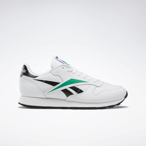d8da661f48 Reebok Classic Leather Vector Shoes - White | Reebok GB