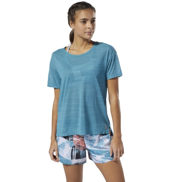 640a690f8a Reebok WOR ACTIVCHILL Tee - Turquoise | Reebok US