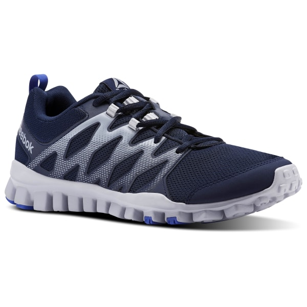 ad6d10711573 RealFlex Train 4.0 Collegiate Navy / Cloud Grey / Acid Blue CN1169