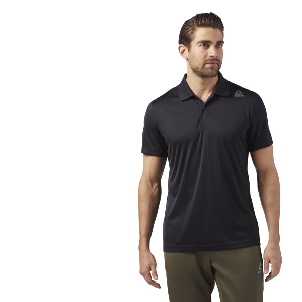 88708b2ec96 Reebok Sport Essentials Polo - Black | Reebok US