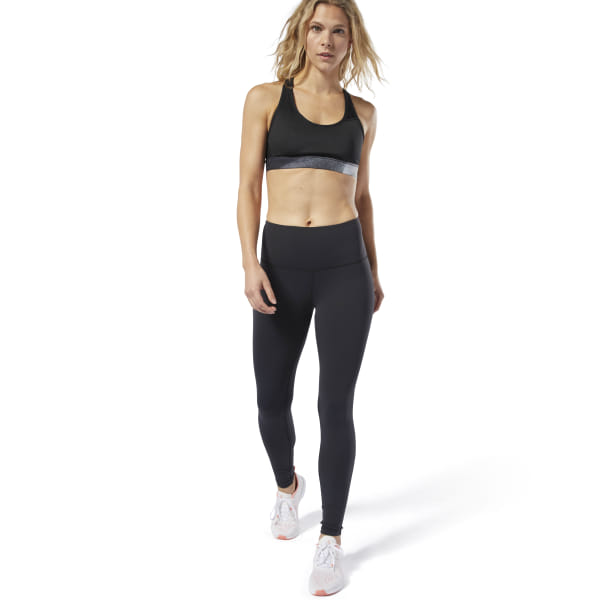 106c2615cb9aa Reebok LES MILLS® Lux High-Rise Tights - Black | Reebok Norway