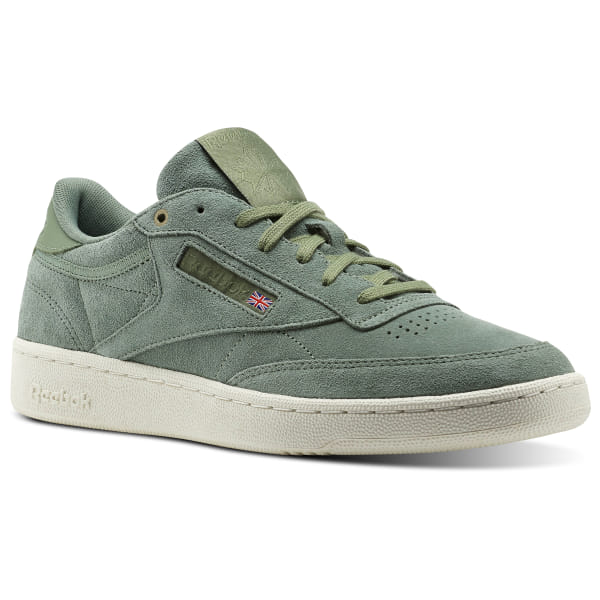 c909b5e0aa Reebok Club C 85 Montana Cans collaboration - Green | Reebok MLT