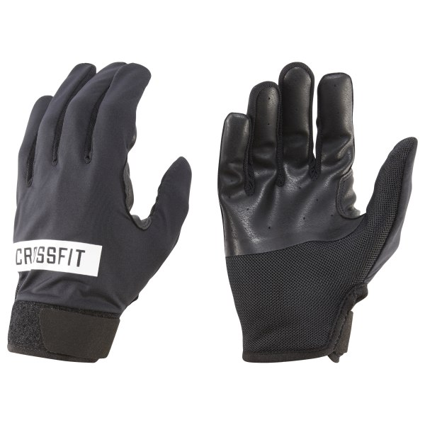 Protect worn-out hands with these WOD-ready CrossFit gloves. Durable materials work with padded palms to guard ripped or calloused hands from abrasive equipment. Anti-slip fabrics aid your grip for steady performance, while Speedwick technology works hard to keep palms dry. Fabric: Leather and mesh for breathability and protection Imported