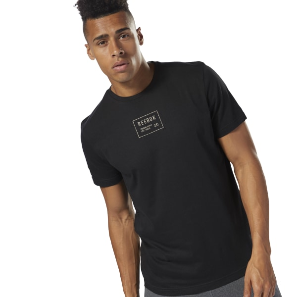29ee357126 Reebok Training Supply Tee - Black | Reebok Norway