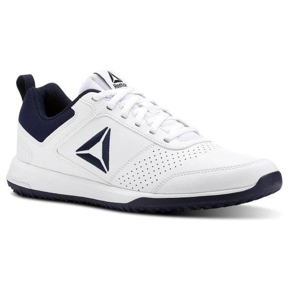 bcc9affbe80 Reebok CXT - Synthetic Leather Pack White / Collegiate Navy / Silver CN4678
