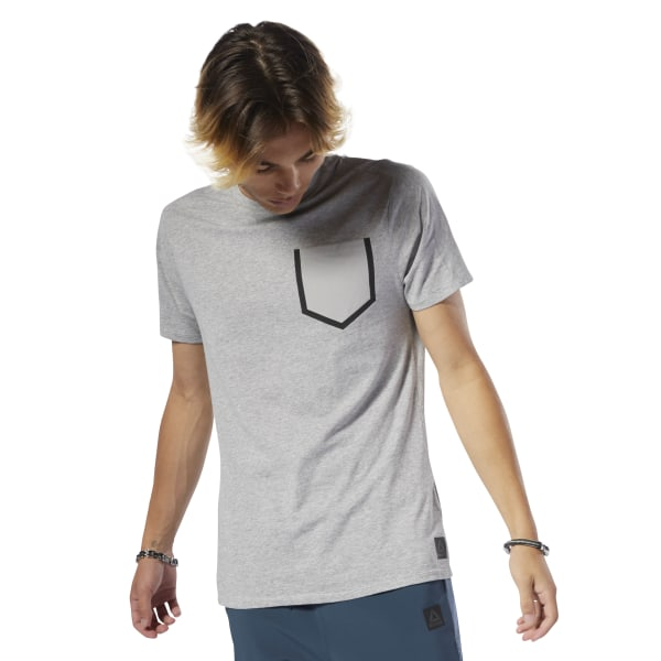 f1a686ad9a Reebok Training Supply Move Tee - Grey | Reebok Norway