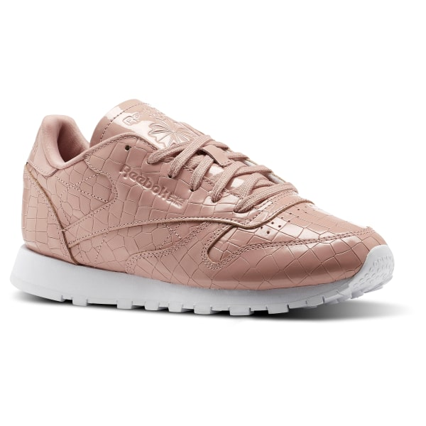 c0dd5c7815198c Reebok Classic Leather Crackle - Różowy | Reebok Poland