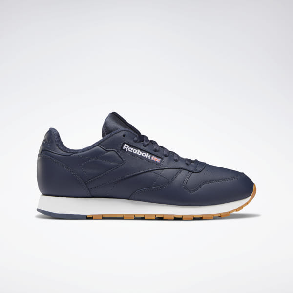 c9af572e61 Reebok Classic Leather Shoes - Blue | Reebok Norway