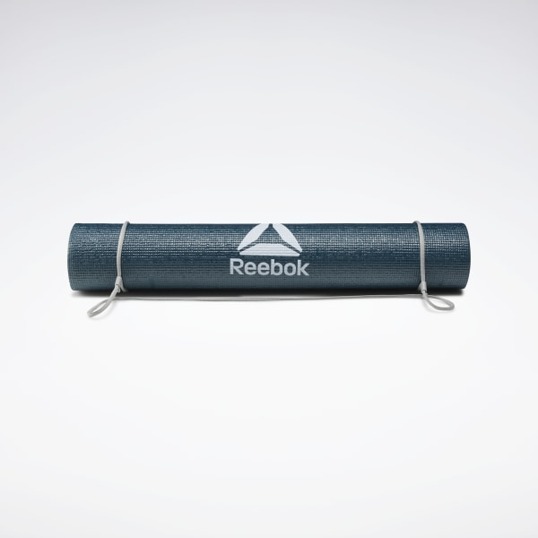 Ideal for yoga, Pilates and general ground exercise; the Reebok 4mm Yoga Mat strikes a middle-ground between comfort and stability. With a grippy non-slip texture, the mat increases traction during your poses for stronger, more effective workouts. Available in 5 colours, the mats are lightweight and rollable with a carrying string for transport. Balances comfort and stability Grippy non-slip texture Compact and rollable Carry string included Dimensions � 173 (L) x 61 (W) cm Carry string included Imported