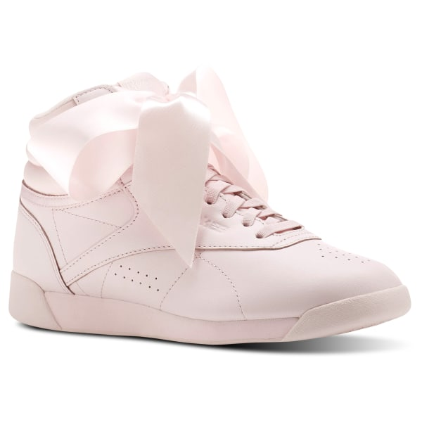f199147b96c15 Reebok Freestyle Hi Satin Bow - Pink | Reebok GB