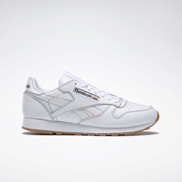 48cd9630e3 Reebok Classic Leather Pride Shoes - White | Reebok US
