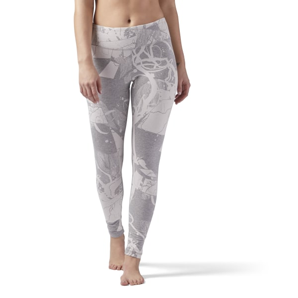 b80728f5e61a1f Reebok Training Essentials Legging - Grey | Reebok MLT