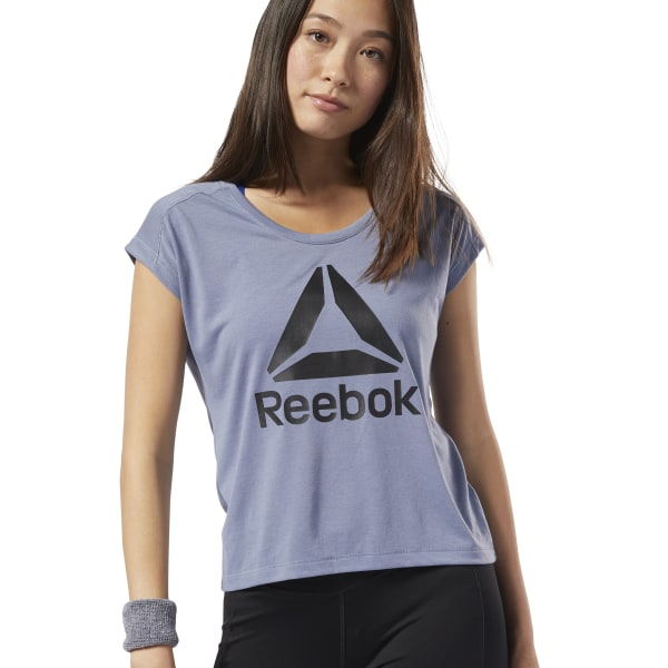 1a07239240 Reebok Workout Ready Supremium 2.0 T-Shirt - Purple | Reebok MLT
