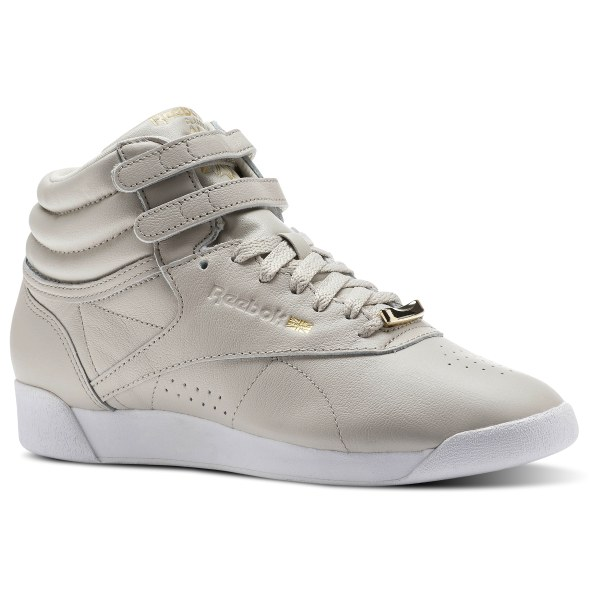 6b63a986992a4 Reebok Freestyle HI MUTED - Beige