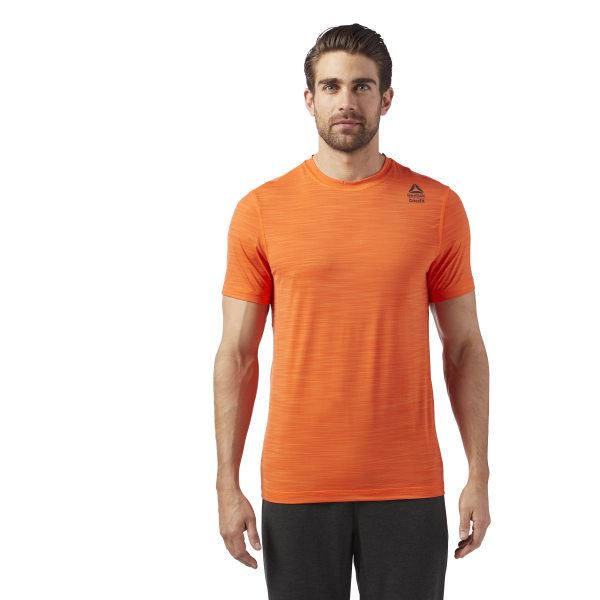 6c9b42092d Reebok Crossfit Activchill VENT T-Shirt - Orange | Reebok Norway