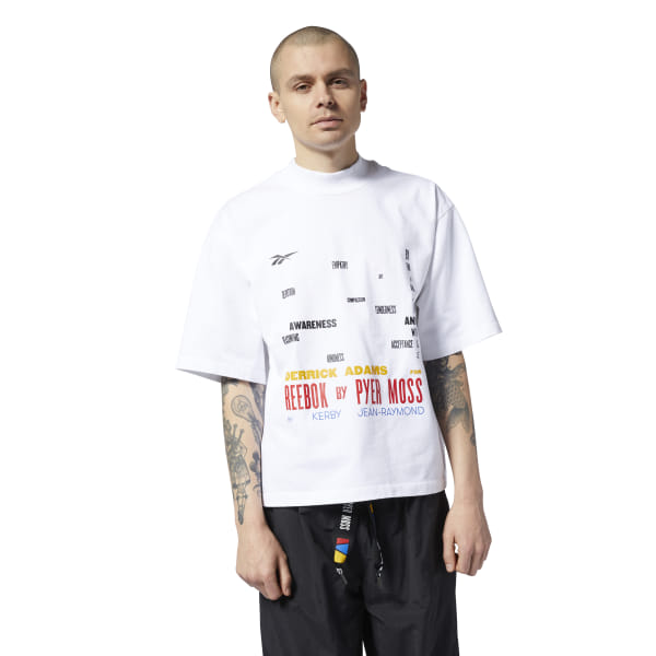 a58b770ce Reebok by Pyer Moss Graphic Tee - White | Reebok US