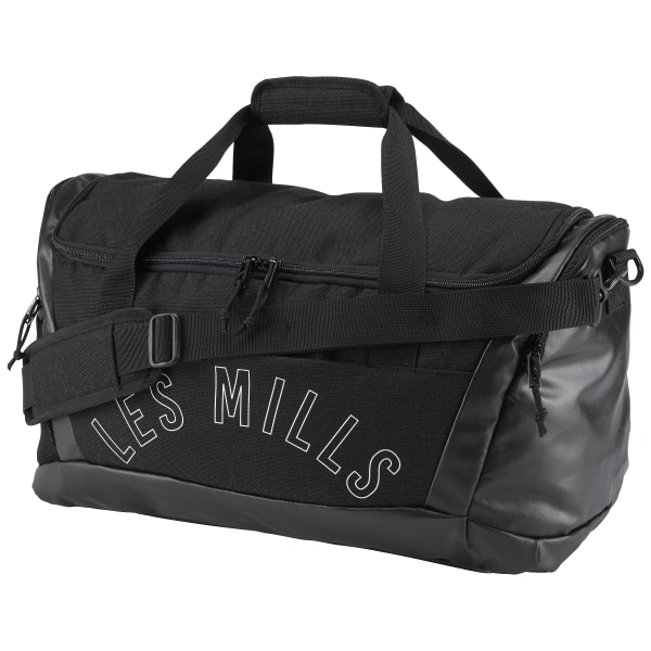 0b4f69867a Reebok LES MILLS Grip Duffle Bag - Black | Reebok Norway