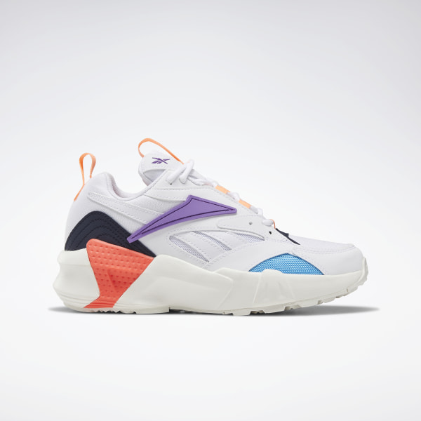 e3af02a4ce Reebok Aztrek Double Nu Pops Shoes - White | Reebok US