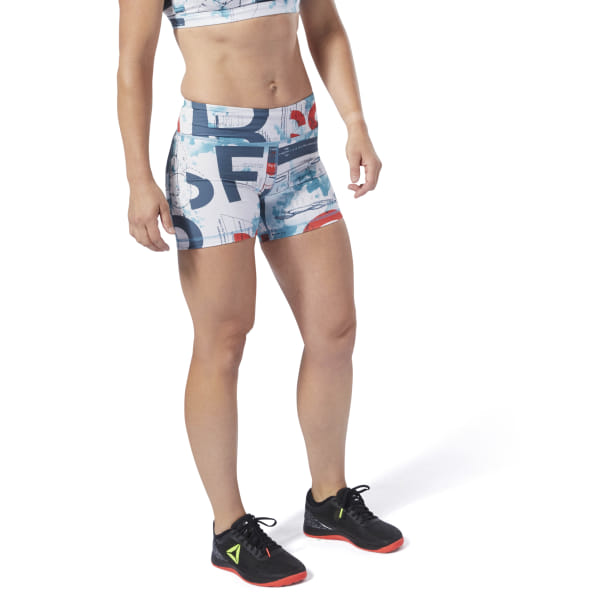 ad39109c Reebok CrossFit® Lux Science Bootie Shorts - Turquoise | Reebok US