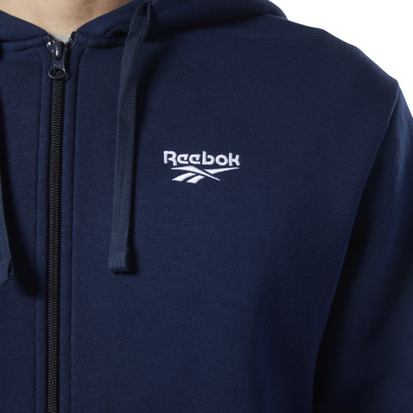 93ebe618 Reebok Classics Fleece Sweatshirt - Blue | Reebok US
