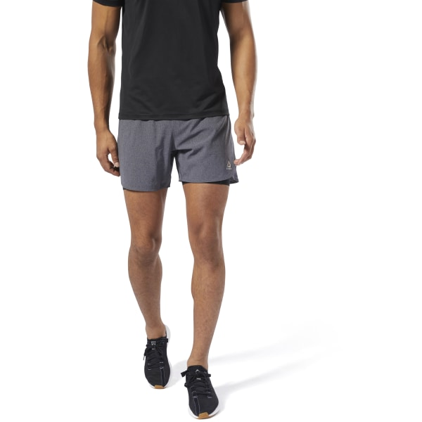 acde992e Reebok Running Epic Two-in-One Shorts - Black | Reebok US