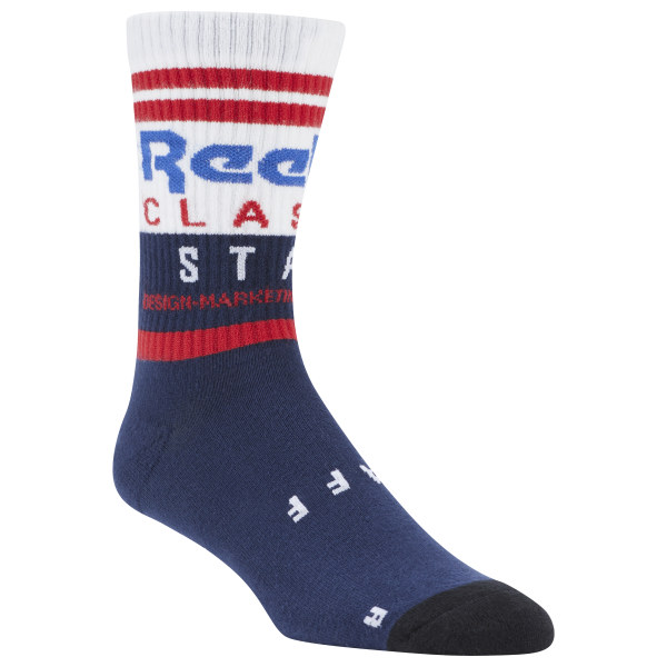 This classic sock is perfect for every day use and casual wear Materials: 62% Cotton Classic Logo Best for: Classic style, everyday wear, casual looks Imported