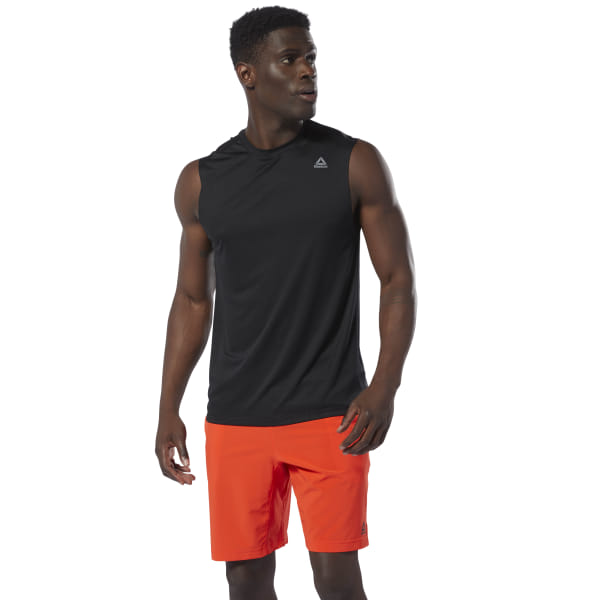 7b2ebc8b Reebok WOR Tech Sleeveless Top - Black | Reebok US