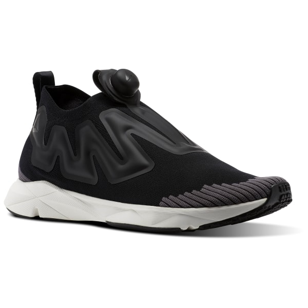 b6fe25ef REEBOK PUMP SUPREME ULTRAKNIT Black / Ash Grey / Chalk CN1235