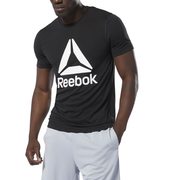 2329bc7983 Reebok WOR Supremium Graphic Tee - Black | Reebok Norway