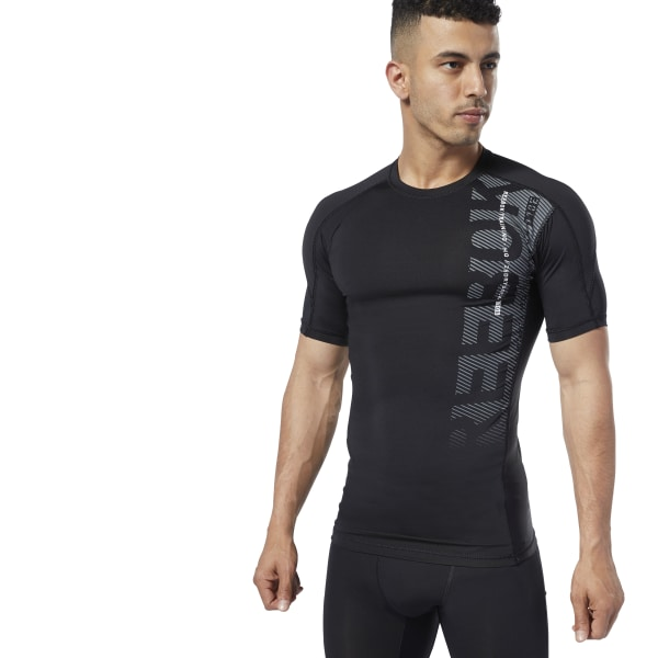 1f713de60d Reebok One Series Training Compression Tee - Black | Reebok MLT